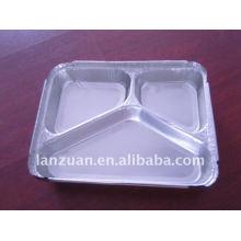 recipiente da folha de alumínio