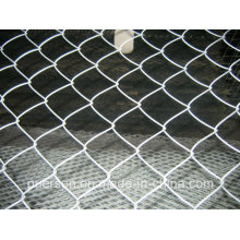 Hot Dipped & Elétrica Galvanizado Chain Link Fence, Chain Link Wire Mesh