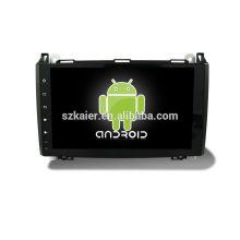 Quatro núcleos! Android 6.0 carro dvd para Benz B200 com 9 polegadas touch screen capacitiva / GPS / Link espelho / DVR / TPMS / OBD2 / WIFI / 4G