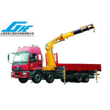 35ton Hydraulic Knuckle Boom Truck Mounted Crane