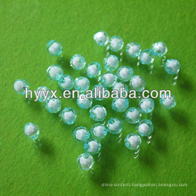 Wholesale Earth Shape Plastic Loose Beads