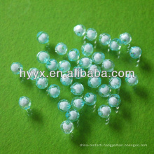 Wholesale Earth Shape Plastic Loose Beads