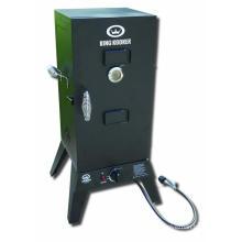 O fumador do BBQ do gás da baixa pressão 30 ′ with com armário de fumo
