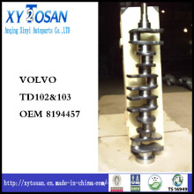 Коленчатый вал для Volvo Td102 & 103 OEM 8194457