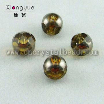 3mm coated glass Shape Bead