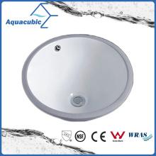 Évier en céramique de sous-comptoir de salle de bain (ACB1601)