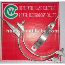 Linha de polo OPGW hardware-aço galvanizado embrace hoop