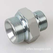 BSP male double bonded seal adapter fittings