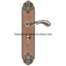 Fábrica de China de bronce rojo de la manija de puerta de la alta calidad (FA-6030LL)