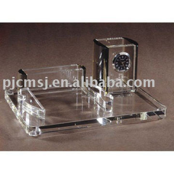 crystal office stationery