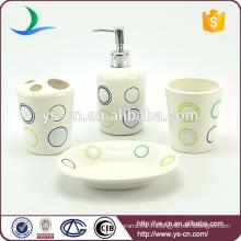 Rideaux en céramique Ensemble de toilette en céramique pour maison