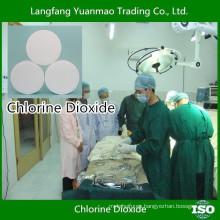 Desinfección de los hospitales desinfectante químico del dióxido de cloro