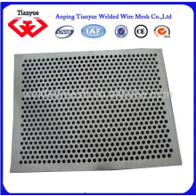 MS perforated metal sheet 0.6 hole