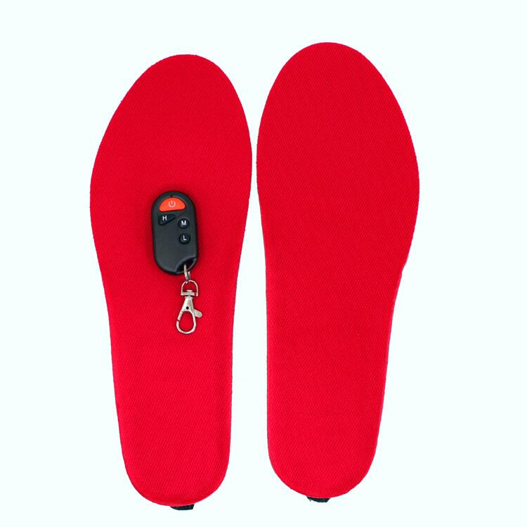 Three Temperature Control Rechargeable Heated Insole