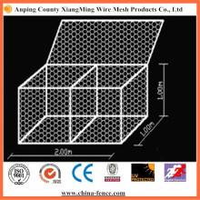 Galvanisé ou en PVC Revêtu de Gabion Hexagonal Mesh