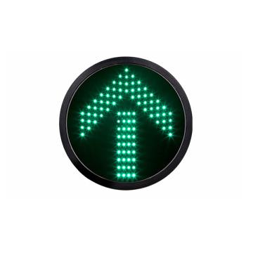 Módulo do sinal do diodo emissor de luz da seta do verde de 300mm 12 polegadas