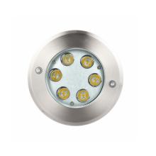 Luz empotrada LED a prueba de agua 6W