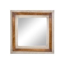 Leder Leinwand Spiegel