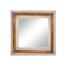 Leather Canvas Mirror