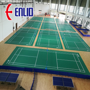 badminton match court court
