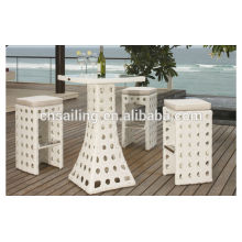 2014 New Design outdoor wicker modern nail bar furniture sets