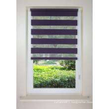 Meijia adhesive blind shade with zebra fabric design