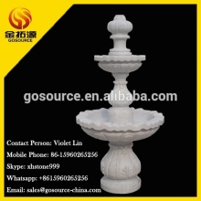 white marble water fountain sale
