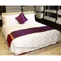 Hotel Linen Fornecedores Luxo confortável Sofa100% Algodão 400tc 60s / 80s Plain / Jacquard /