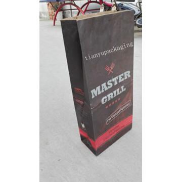 Recyclable anti-poussière Feuillus naturel au charbon dans le sac BBQ BBQ