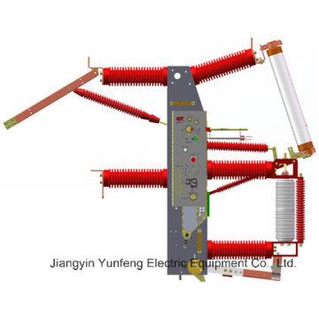 Commutateur intégré de rupture de charge de vide de pont-croisement de 40.5kv