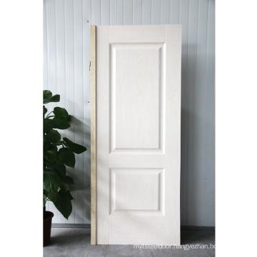 GO-E4a mold 3mm melamine wooden door skin hdf door skin used for interior door