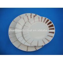 Plaque en céramique en porcelaine pour une taille différente
