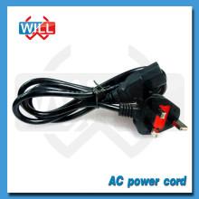 UK Cable de alimentación de la computadora 220V con enchufe de fusible