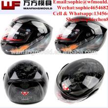 Factory direct sales Low Price plastic Motorcycle helmet mold/Custom Design OEM plastic Motorcycle helmet moldings