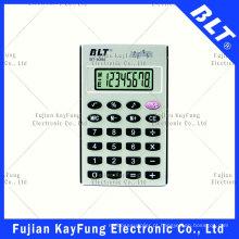 Calculadora de tamanho de bolso de 8 dígitos com som (BT-839A)