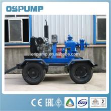 Pompe à ordures à courroie haute qualité avec haute pression