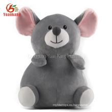 Juguete de conejitos de Indias gris Juguete de conejitos de Indias gris Lindo Juguetes de ratón de peluche gris con grandes ojos