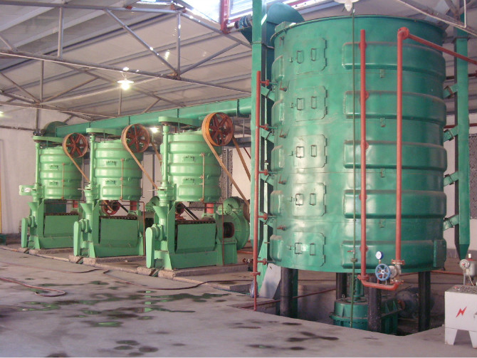 Peanut Sunflower Cottonseed Oil Mill Machinery