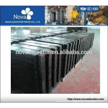 Cast Iron Counterweight Block for Elevator