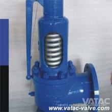 Válvula de alivio de seguridad de elevación baja con carga de resorte API 520 Wcb / Lcb / Wc6