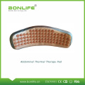 Far infrared heated electronic abdominal massage belt