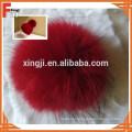 Китай поставщик меха енота помпонами
