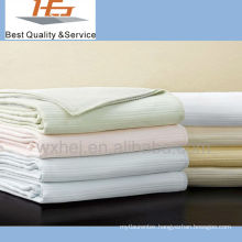 hot sale cotton hospital leno blanket