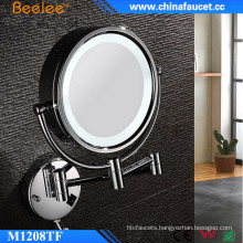 Beelee Thin Compact LED Mirror with 3X Magnifying