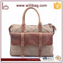 Bestnote Business Tote Messenger Bag Freizeit Leinwand Männer Handtasche