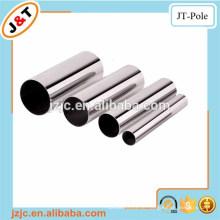 Klettband Spur Vorhang Schiene, Twisted Messing Pole, Aluminium Guss Stange