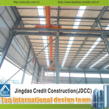 Manufacturing and Assembing Prefab Structural Steel Warehouse