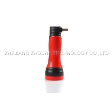 super power capacity rechargeable plastic led torch