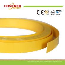 Bandas de borde de PVC para madera contrachapada, uso de bandas de borde en madera contrachapada