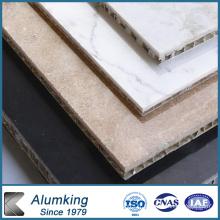 Panneau en aluminium à nid d'abeille pour façades et toits
